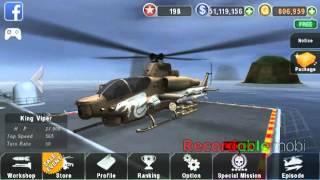 gunship battle unlimited gold full version apk