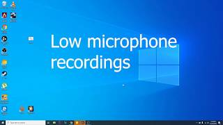 Low or distorted volume from your microphone or speakers windows 10