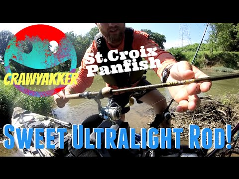 StCroix Panfish spinning rod review