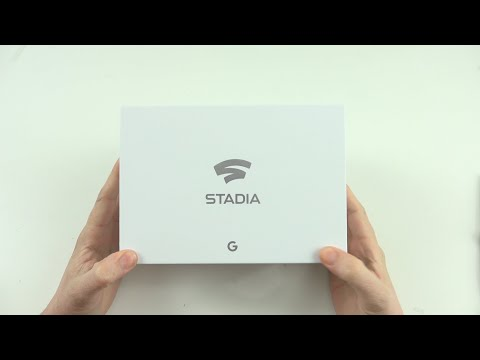 Google Stadia Founders Edition Unboxing and Setup!