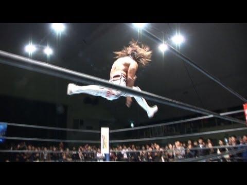 オカダ組vs棚橋組! 内藤&アンダーソン! 大熱狂の3.12新潟大会を『YouTube』でアップ!!  