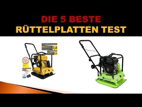 Besten Rüttelplatten Test 2019