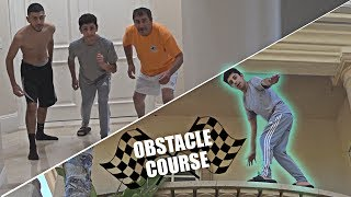 INSANE OBSTACLE COURSE IN THE NEW HOUSE!! | FaZe Rug