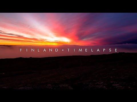 המקומות היפים ביותר בפינלנד בסרטון 4K מרהיב
