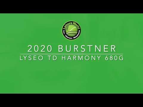 Burstner Lyseo TD Harmony 680G Video Thummb