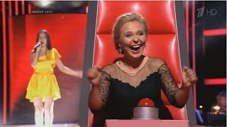 Голос 1-5: лучшее и интересное (ч. 2)  The Voice Russia 1-5: the best and interesting (p. 2)