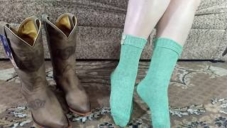 Women Socks For Cowgirl Boots From Amazon.com (eng & Rus)