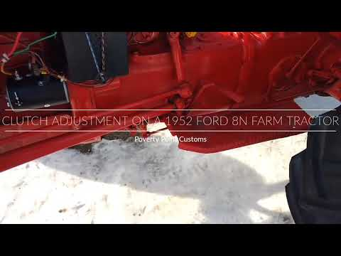 Ford Tractor Clutch Replacement and Adjustment: Easy Step-By