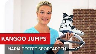 Kangoo Jumps: Gesundes Training Mit Gefederten Schuhen – Maria Testet Trendsportarten – OTTO