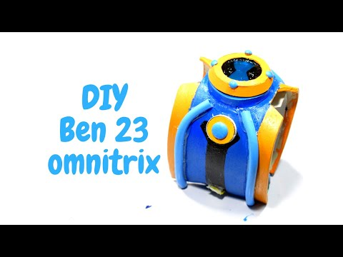 how to make ben 23 omnitrix hero watch at home