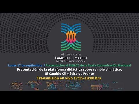 Presentación de la plataforma didáctica sobre cambio climático, El Cambio Climático de Frente