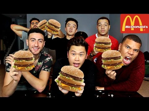 THE BIG MAC CHALLENGE!!!