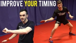 3 Easy Drills To Improve Timing in Table Tennis