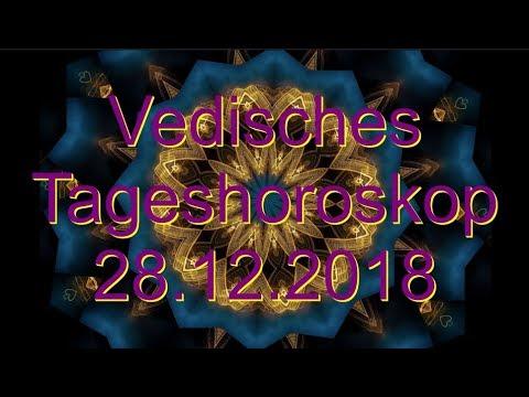 Vedisches Tageshoroskop: 28.12.2018 (Freitag)
