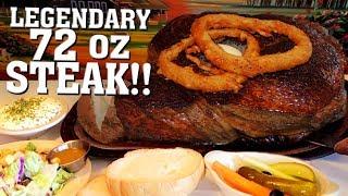 Sayler's Famous 72oz Steak Challenge in Portland, Oregon!!