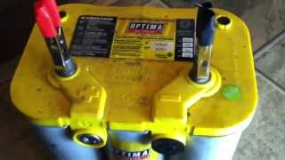 HOW TO REGENERATE AND RECHARGE A DEEPLY DISCHARGED OPTIMA GEL BATTERY PART:1