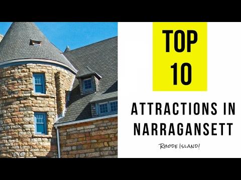 Video Top 10. Best Tourist Attractions in Narragansett - Rhode Island