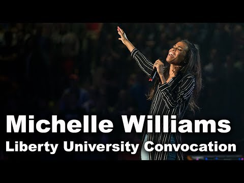 Michelle Williams - Liberty University Convocation