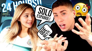 WE spoke ONLY Spanish for 24 HOURS!!! **ALMOST IMPOSSIBLE**