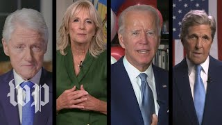 Joe Biden officially named Democratic nominee on second night of DNC