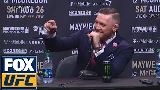 Conor McGregor vs Floyd Mayweather (FULL PRESS CONFERENCE) | LA | UFC ON FOX