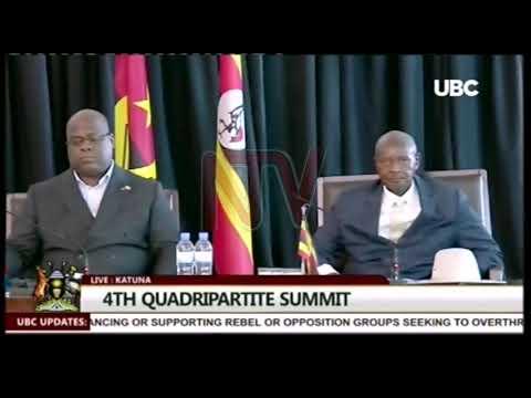 Museveni, Kagame basisinkanye, okuggula ensalo kujulidde