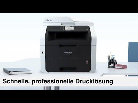 brother 4 in 1 Farblaser-Multifunktionsdrucker MFC-9332CDW