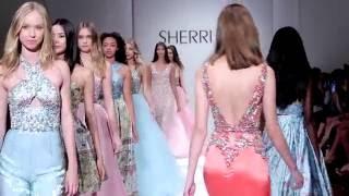 SHERRI HILL Spring 2017 Runway Show | NYFW