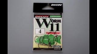 Офсетный крючок decoy worm 101
