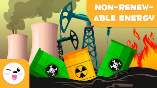 Non-renewable Energy Sources - Types of Energy for Kids
