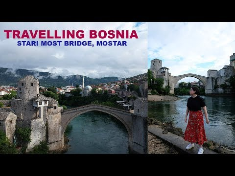EXPLORING MOSTAR BOSNIA | THE MOST BEAUTIFUL CITY!