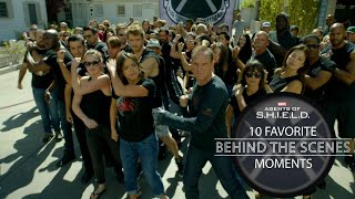 10 Favorite Behind-the-Scenes Moments - Marvel's Agents of S.H.I.E.L.D. 100