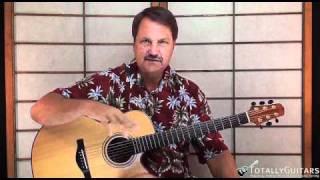 Stuff And Nonsense Guitar Lesson - Split Enz