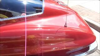 preview picture of video '1967 Chevrolet Corvette Stingray @ Classics on Main Bowling Green Car Show 7-13-2013'