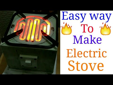 🔥 Easy way to make Electric Stove at home (in hindi)