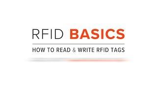 RFID Basics   How to Read & Write RFID Tags
