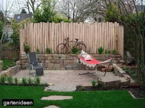 Sichtschutz Im Kleinen Garten