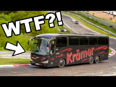"""BIZARRE And Unexpected 'Things"""" At The Nürburgring Nordschleife! Best Of Weird Cars Nürburgring"""