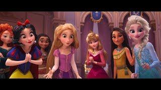 """Ralph 2.0 """" Vanellope Rencontre Les Princesses """" Extrait VFQ"""