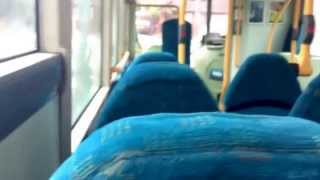 preview picture of video 'Arriva The Shires Wright Solar Scania Urban KE55 FBY Full Town Service Route 8'