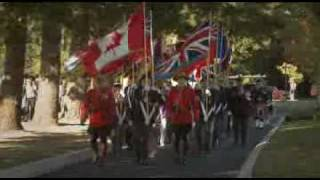 Legacy Walk: honouring Canada's military at Garrison Crossing  (Chilliwack, B.C.)