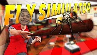 Giả lập Quán Pizza và Bầy ruồi cùng Mixigaming và Xemesis   Fly simulator