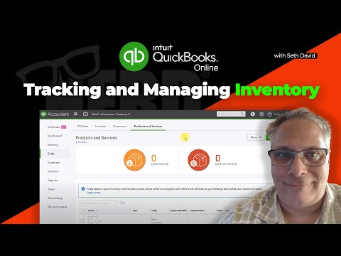 Tracking and Managing Inventory in QuickBooks Online