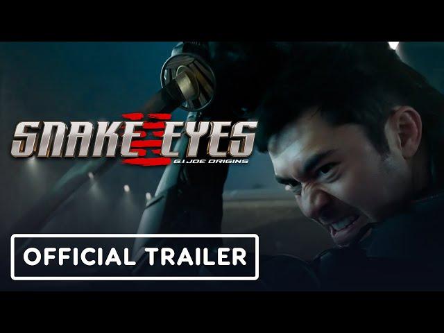 Snake Eyes: G.I Joe Origins  Trailer