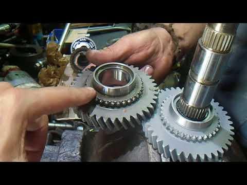Фото к видео: Ремонт КПП ВАЗ 21099