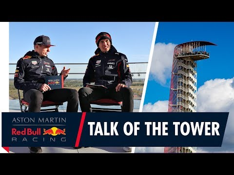 Video | Verstappen en Albon schitteren in The Talk of the Tower
