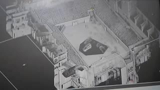 Primeras imágenes del escaneado de la Plaza de Toros de Algemesí (Valencia)