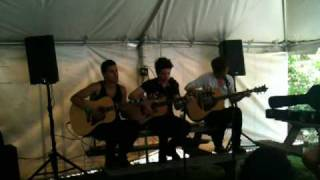 The Downtown Fiction - Oceans Between Us at The Bamboozle Roadshow 2010