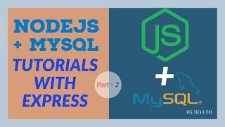 Nodejs and MySQL With PUG  & Express Tutorial - Setup MySQL Server