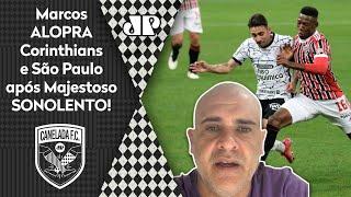 Olha como Marcos aloprou após o horrível Corinthians 0 x 0 São Paulo